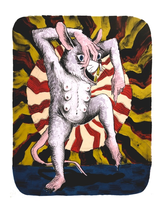 Born rat dance 14x18